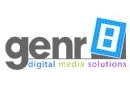 Genr8 Digital Media Solutions Logosu